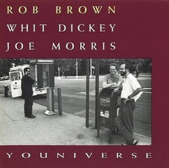 Youniverse (Rob Brown album) - Image: Youniverse Cover
