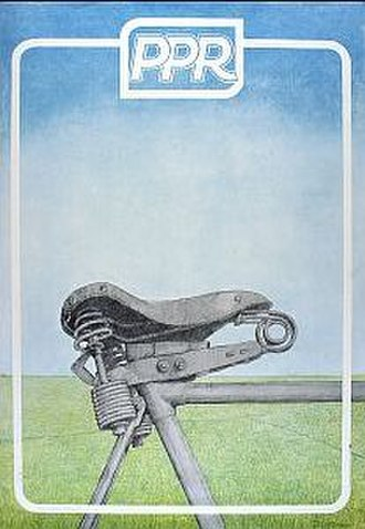 Political Party of Radicals - Poster for the 1974 elections showing the green nature of the party