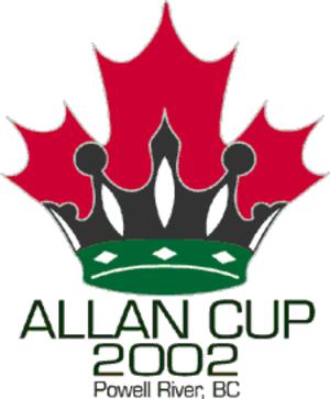 2002 Allan Cup - Image: 2002 Allan Cup