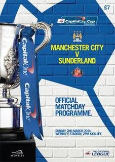 2014 Football League Cup Final Football match