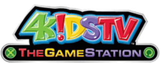 "4Kids TV - ""The Game Station"" logo used from September 8, 2007 to December 27, 2008"