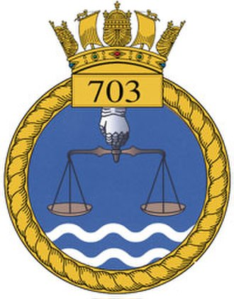 703 Naval Air Squadron - 703 Naval Air Squadron badge