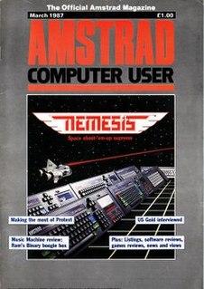 <i>Amstrad Computer User</i> British magazine for Amstrad CPC users