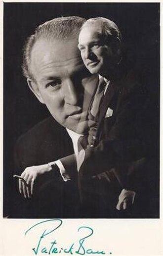 Patrick Barr - Image: Actor Patrick Barr