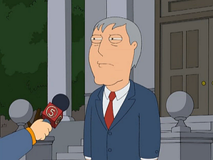 Adam West (Family Guy) - Mayor Adam West