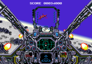 Air Diver - Players have the opportunity to chase down their enemy prior to blowing them out of the sky with either missiles or their machine guns.
