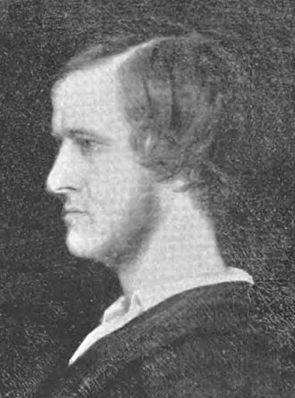 American Union of Associationists - Albert Brisbane, leading figure of American Fourierism in the 1840s, as he appeared at the time of publication of his seminal book, Social Destiny of Man (1840).