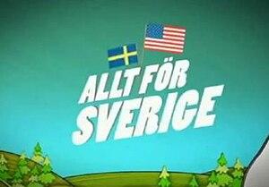 Allt för Sverige - Image: Allt för Sverige (logo)
