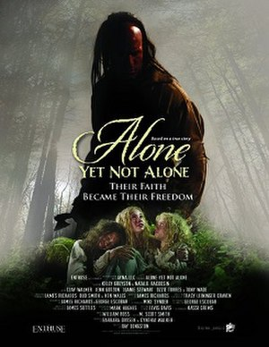 Alone yet Not Alone - Theatrical release poster