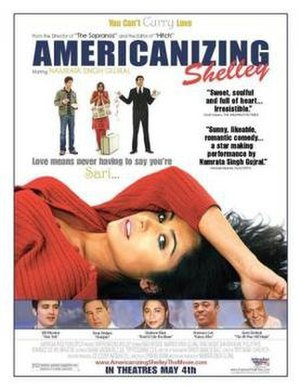 Americanizing Shelley - Promotional film poster