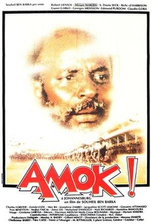 Amok (1983 film) - Film poster
