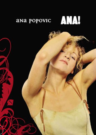 Ana! Live in Amsterdam - Image: Ana Popović Ana! Live in Amsterdam DVD