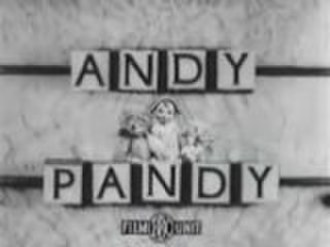 Marionette - The 1952 Andy Pandy title card.  The card was not actually a card as the blocks turned to reveal the title one block at a time.