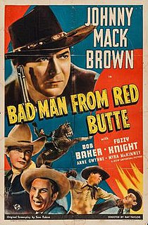 <i>Bad Man from Red Butte</i> 1940 film directed by Ray Taylor