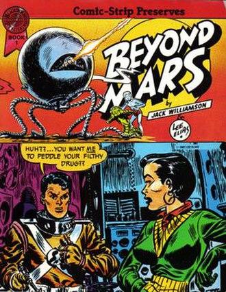 Beyond Mars - Jack Williamson and Lee Elias' Beyond Mars trade paperback (1987)