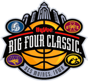 Iowa Big Four men's college basketball - Image: Big 4 Classic logo