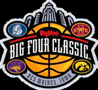 Iowa Big Four mens college basketball