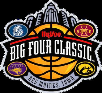 Iowa Big Four men's college basketball - Image: Big 4 Classic logo