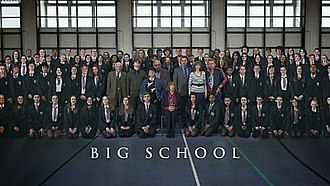 Big School (TV series) - First series titlecard