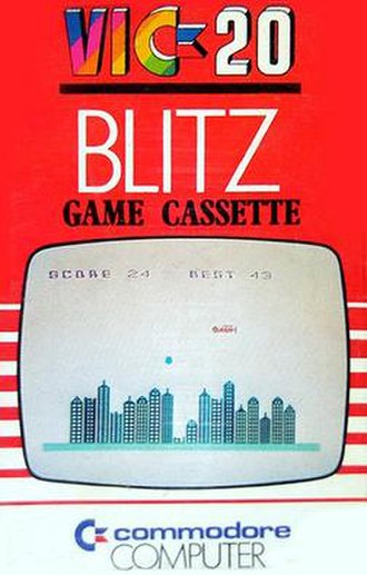 Blitz (video game) - Blitz for the Vic-20
