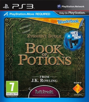 Book of Potions - European cover art