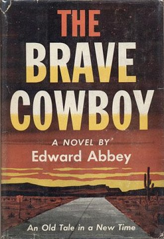 The Brave Cowboy - First edition