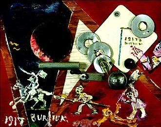 David Burliuk - David Burliuk Revolution, 1917