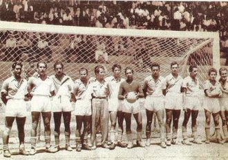 C.F. Monterrey - Club's match in 1945.