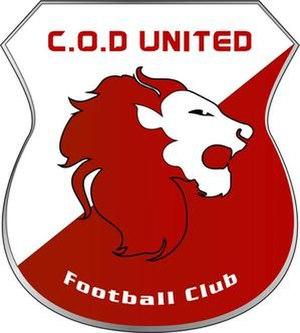 COD United Amazons F.C. - Image: COD United logo