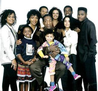 The Cosby Show - The cast of The Cosby Show in 1989