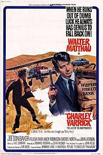 <i>Charley Varrick</i> 1973 film by Don Siegel