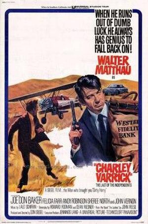 Charley Varrick - Film poster