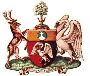 Buckinghamshire County Council - Image: Coat of arms of Buckinghamshire County Council