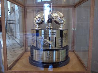 Commander-in-Chiefs Trophy Football trophy for U.S. service academies