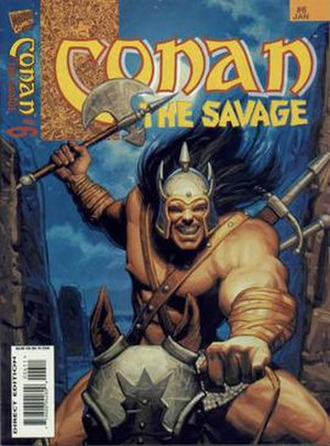 Conan (comics) - Image: Conan the Savage 6