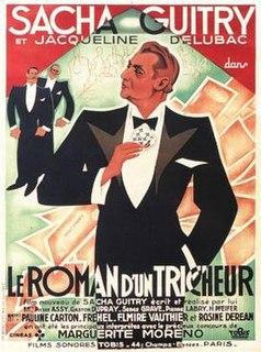 <i>Confessions of a Cheat</i> 1936 film by Sacha Guitry