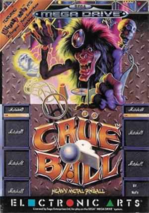 Crüe Ball - European cover art
