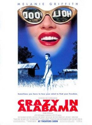 Crazy in Alabama - Image: Crazy in alabama poster