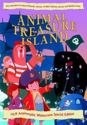 Animal Treasure Island - Image: Dōbutsu Takarajima Film Poster