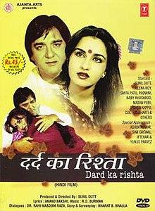 Dard Ka Rishta (1982) SL YT - Sunil Dutt, Reena Roy, Smita Patil, Padmini Kolhapure, Simi Garewal, Ashok Kumar