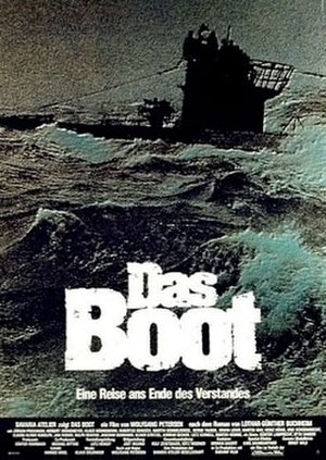 Das Boot - Original 1981 theatrical poster