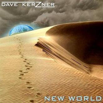 New World (Dave Kerzner album) - Image: Dave Kerzner New World