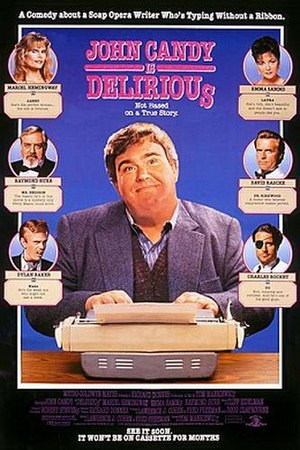Delirious (1991 film) - Theatrical Poster