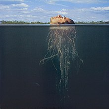 Alternative cover by Storm Thorgerson found on certain limited editions and on the reverse side of original cover