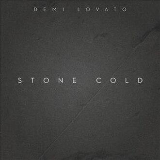 Stone Cold (Demi Lovato song) - Image: Demi Lovato Stone Cold (Single Cover)
