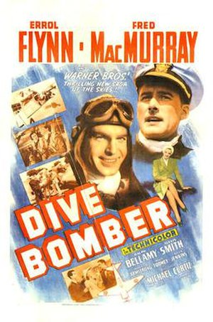 Dive Bomber (film) - original theatrical Poster
