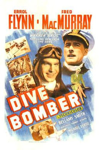 Dive Bomber (film) - Theatrical release poster