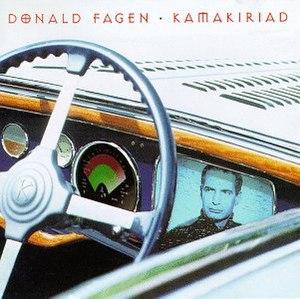 Kamakiriad - Image: Donald Fagen Kamakiriad