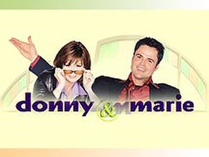 Donny & Marie (1998 TV series) - Image: Donny&marie 1998title