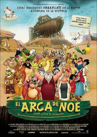 Noah's Ark (2007 film) - Spanish theatrical release poster